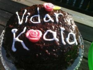 Viddes och Koalas Tårta